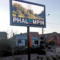 Panneau d'affichage led communal de Phalempin